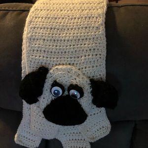 Handmade Pug Scarf